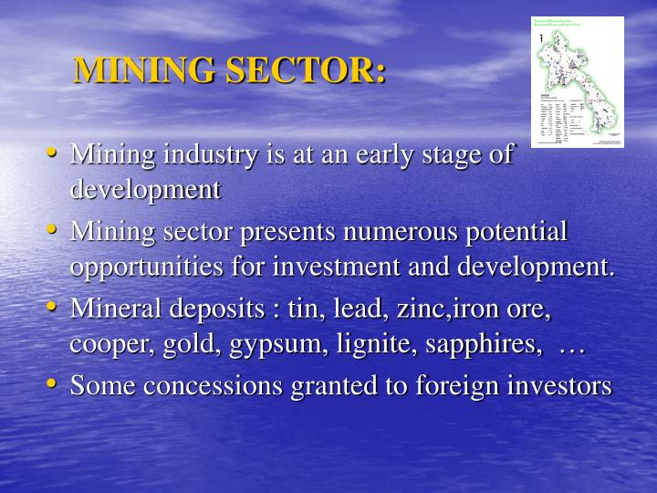 MINING SECTOR: