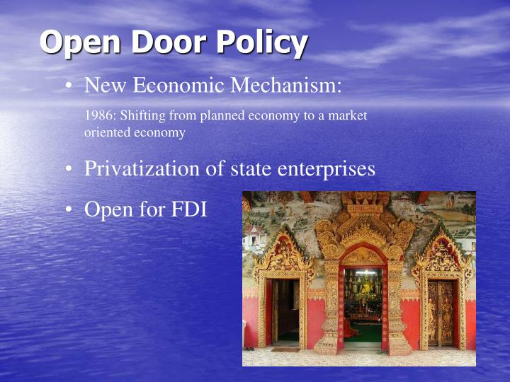 Open Door Policy