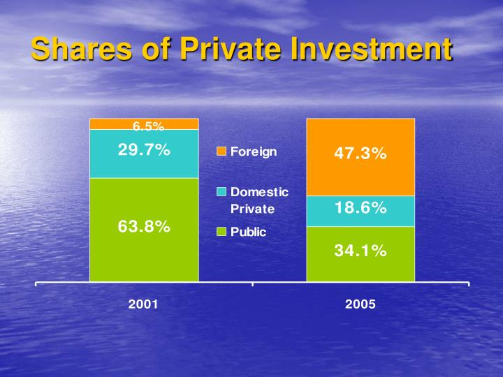 Shares of Private Investment