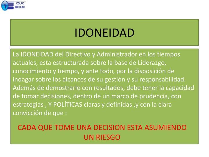 IDONEIDAD