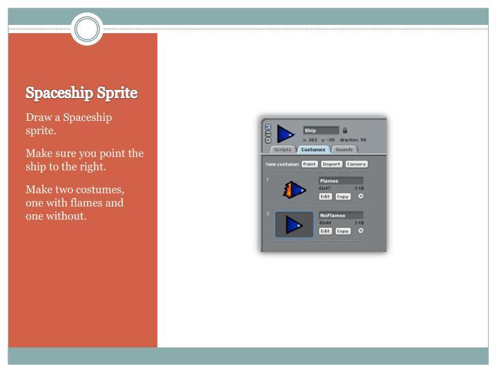 Spaceship Sprite