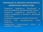 inwestycje w zakresie infrastruktury ratownictwa medycznego4