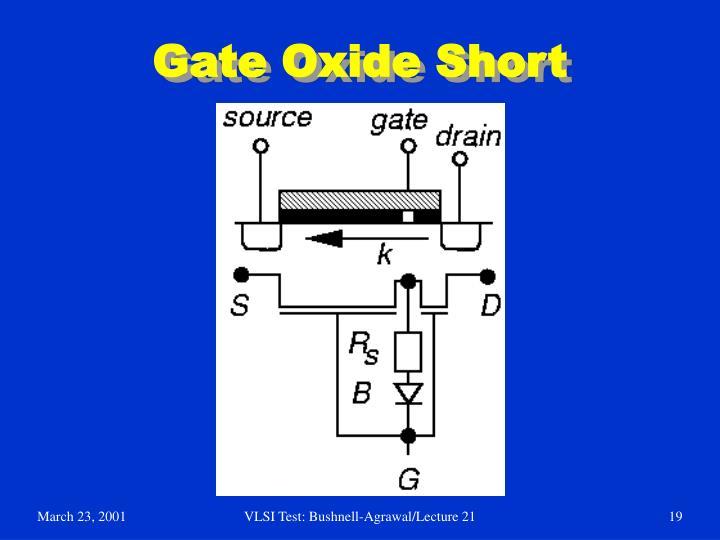 Gate Oxide Short