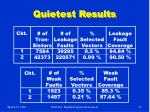 quietest results1