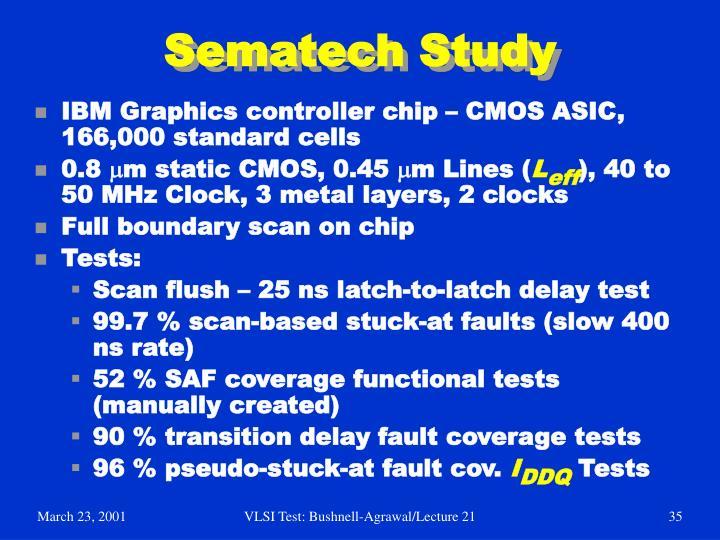 Sematech Study