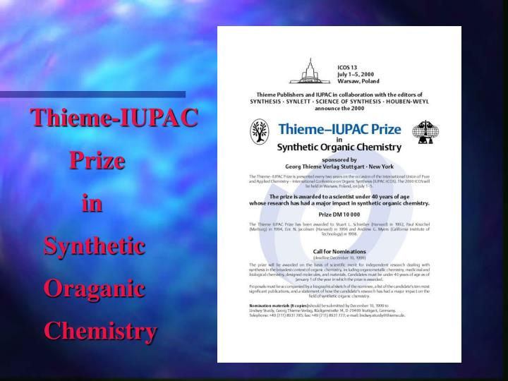 Thieme-IUPAC