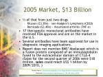 2005 market 13 billion