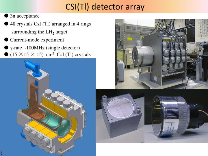 CSI(Tl) detector array