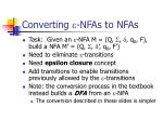 converting nfas to nfas