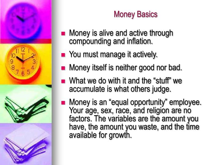 Money Basics
