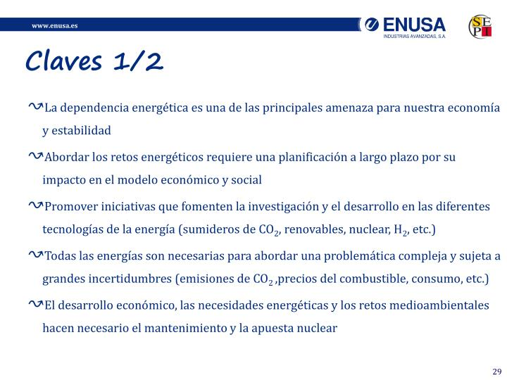 Claves 1/2