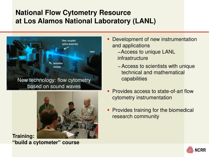 National Flow Cytometry Resource