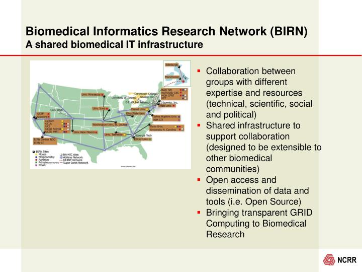 Biomedical Informatics Research Network (BIRN)