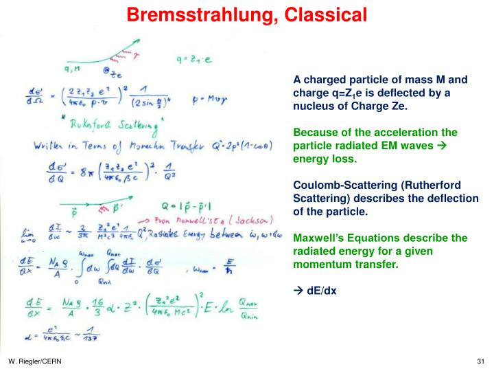 Bremsstrahlung, Classical