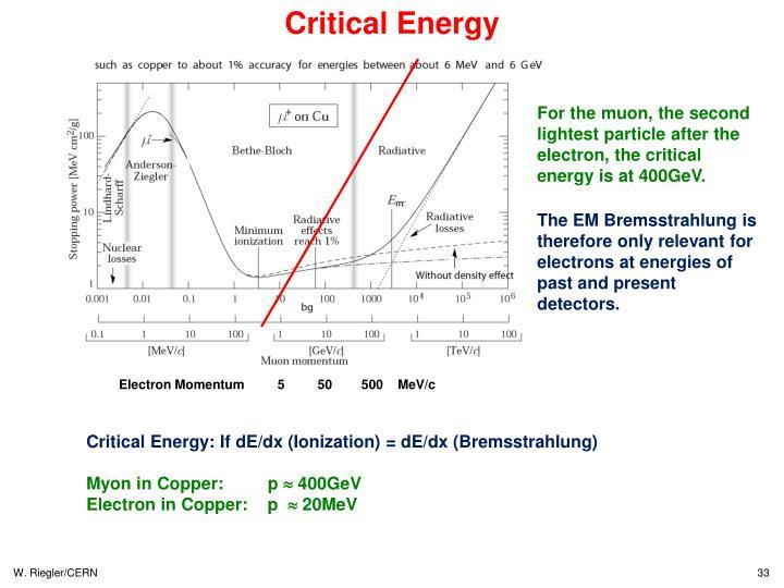 Critical Energy