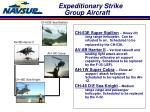 expeditionary strike group aircraft