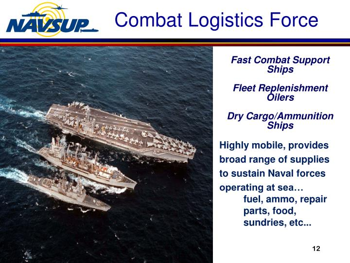 Fast Combat Support Ships