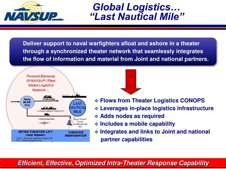 Global Logistics…