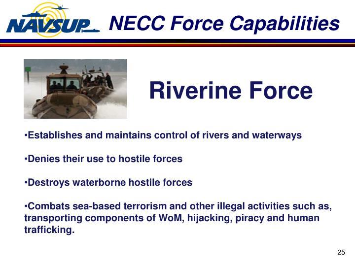 NECC Force Capabilities