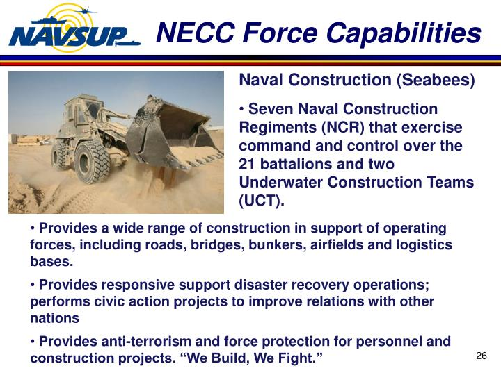 NECC Force Capabilities