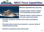 necc force capabilities4