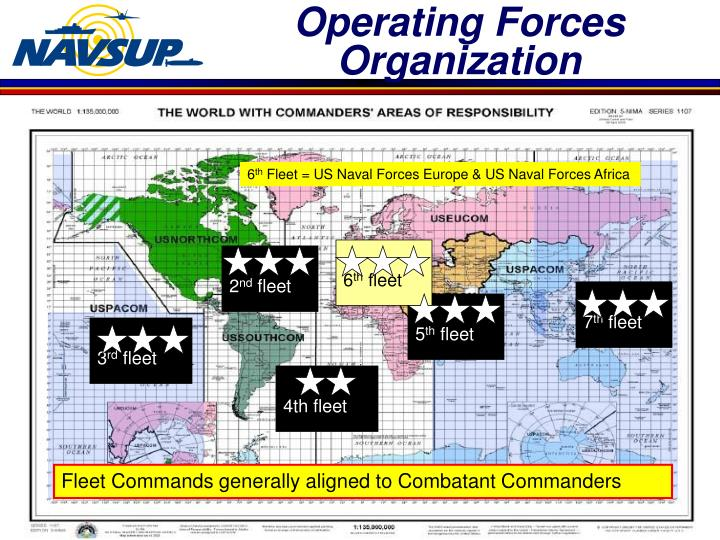 Operating forces organization