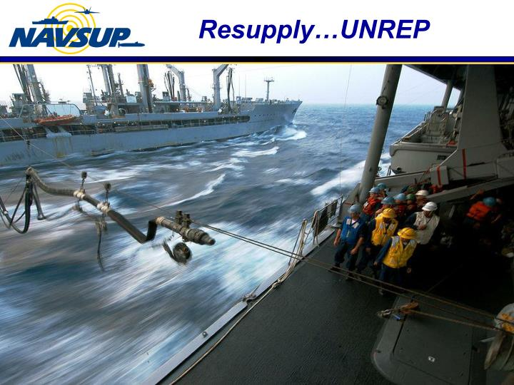 Resupply…UNREP