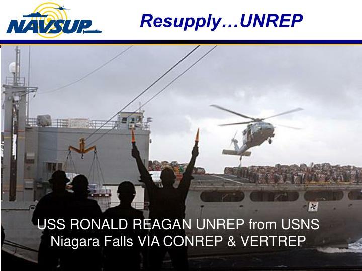 Resupply…UNREP