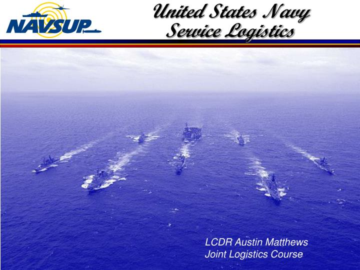 United states navy service logistics