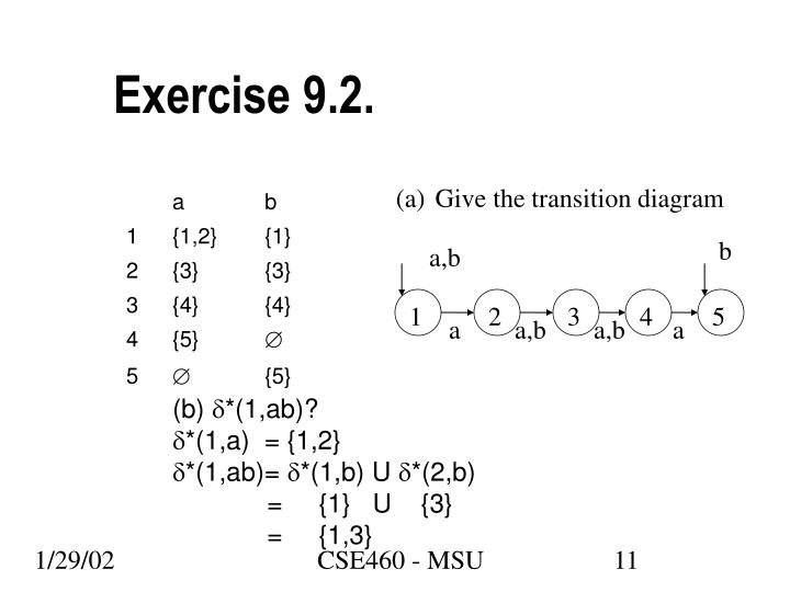 Exercise 9.2.