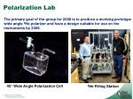 polarization lab