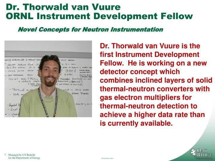 Dr. Thorwald van Vuure