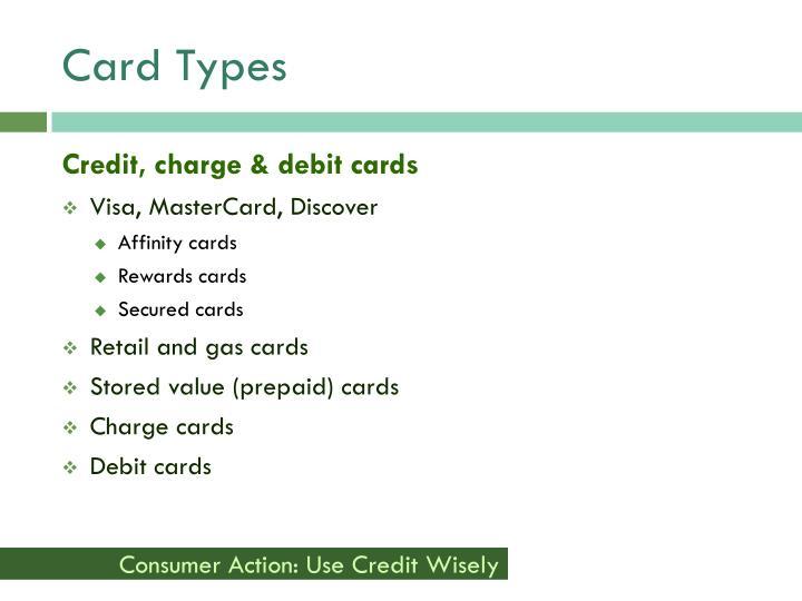 Card Types