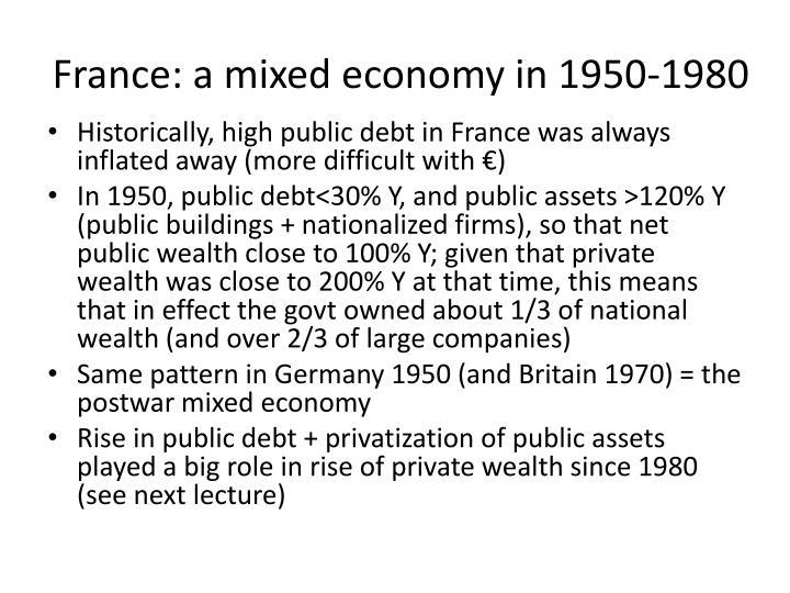 France: a mixed