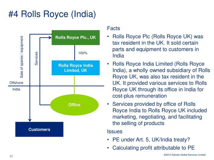 #4 Rolls Royce (India)