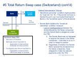 5 total return swap case switzerland cont d1
