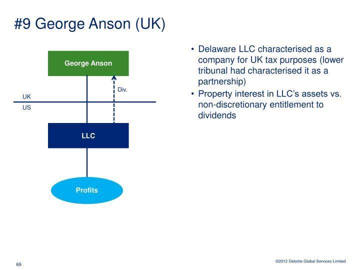 #9 George Anson (UK)