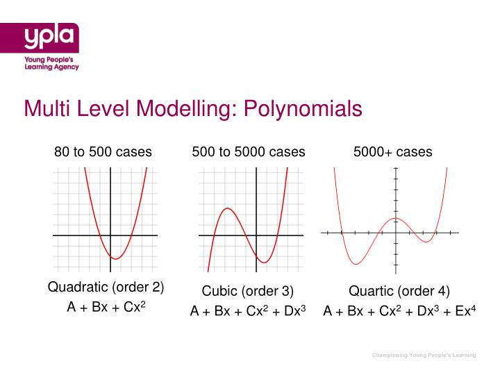 Multi Level Modelling: Polynomials