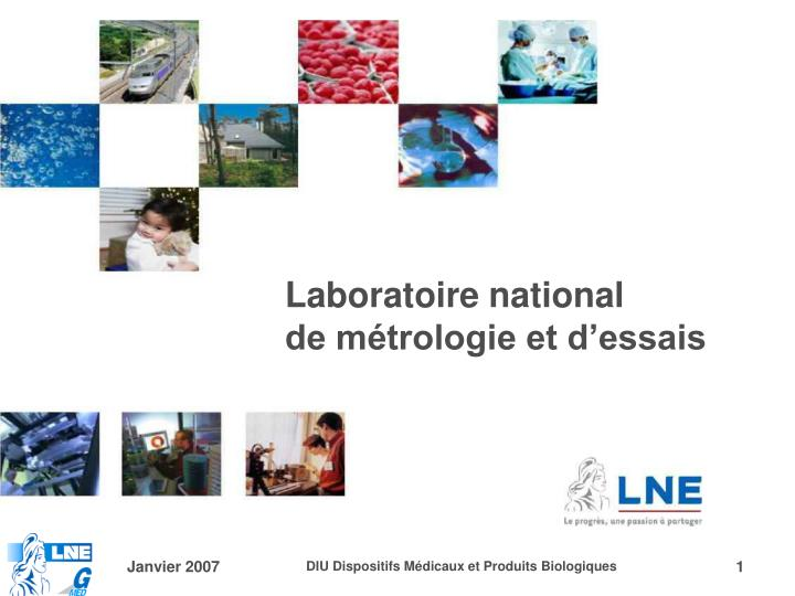 Laboratoire national