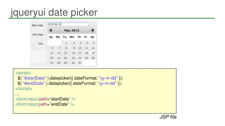 jqueryui date picker