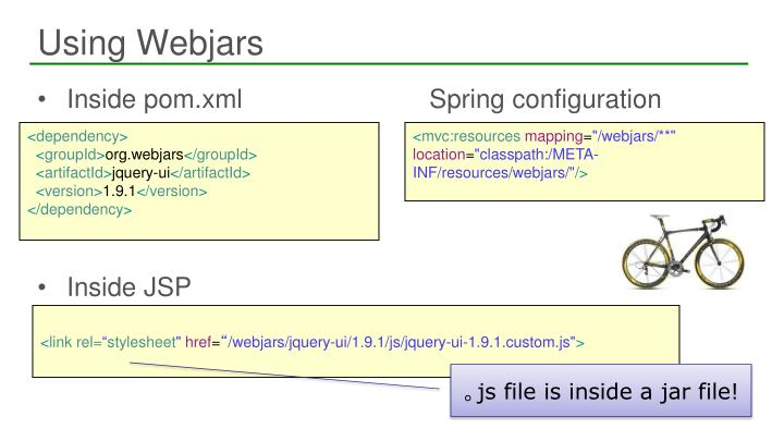 Using Webjars