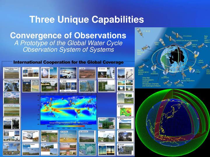 Three Unique Capabilities