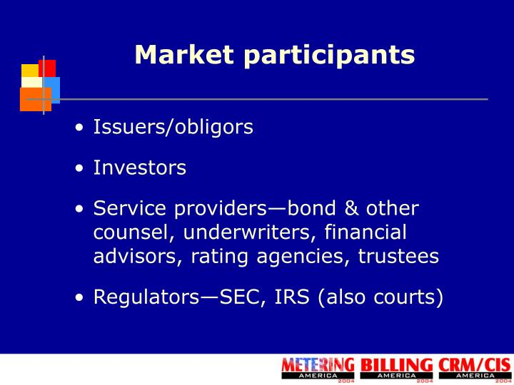 Market participants