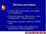 service providers1