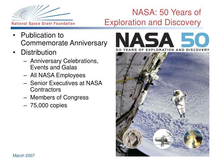 NASA: 50 Years of