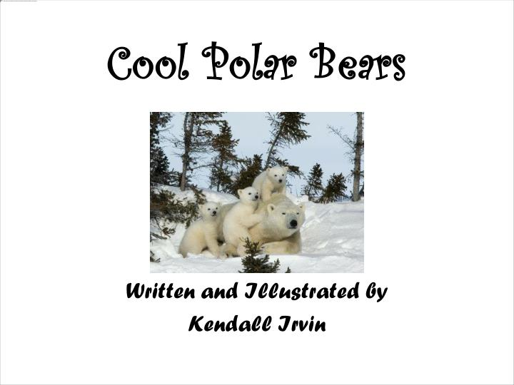 Cool polar bears1