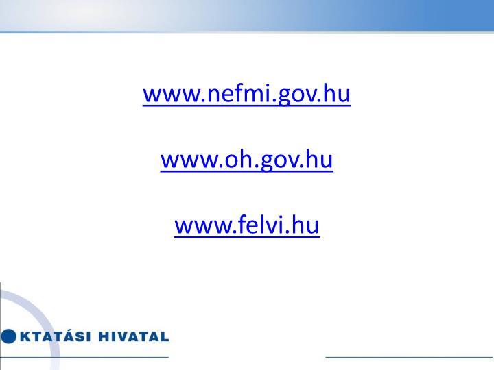 www.nefmi.gov.hu