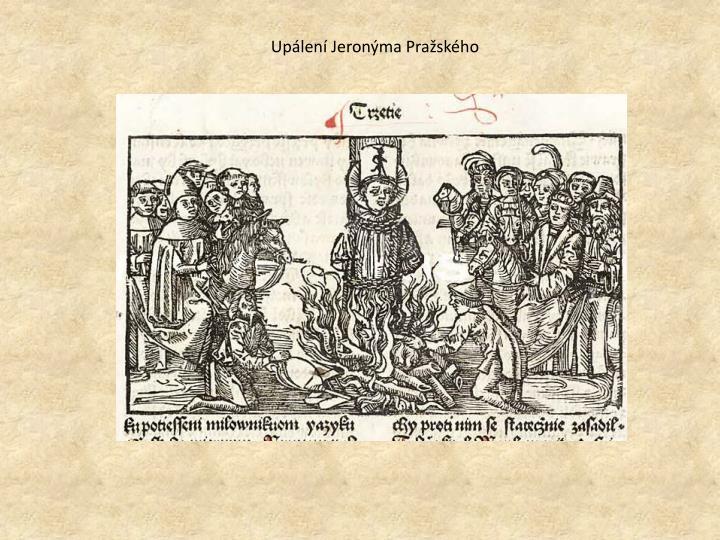 Upálení Jeronýma Pražského