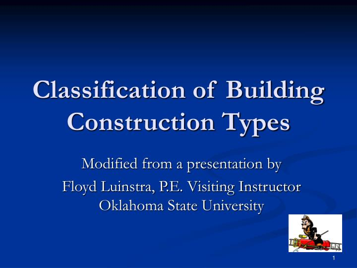 Building Construction Types : Download the first computers