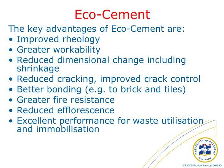 Eco-Cement